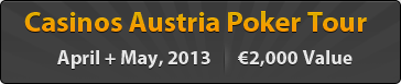Casinos Austria Poker Tour - Velden�€2,000