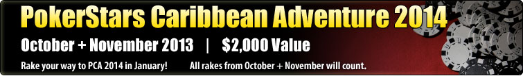 PokerStars Caribbean Adventure 2014