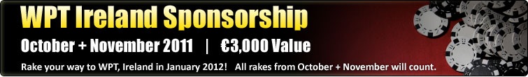 World Poker Tour - Ireland 2012  (€3,000)