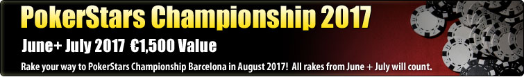 PokerStars Championship - €1,500