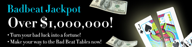 bad beat jackpot $1 million