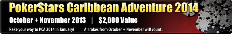 PokerStars Caribbean Adventure 2014