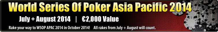 World Series Of Poker Asia Pacific 2014