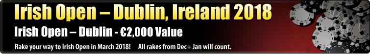 Irish Open - Dublin, Ireland 2018  (€2,000)